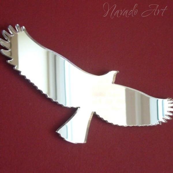 Gương trang trí hình chim đại bàng