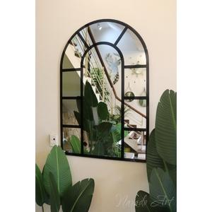 Gương trang trí phòng khách cửa sổ