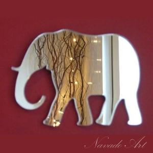Gương trang trí hình con voi