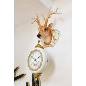 Đồng hồ nghệ thuật decor hình hươu