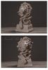 Bộ tượng trang trí để bàn vua sư tử