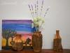Bình hoa gỗ lũa xưa Decor