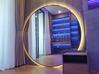 Gương led viền inox trang trí nhà hàng, khách sạn