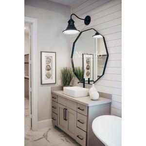 Gương nhà tắm Deocor hình đa giác