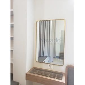 Gương khung inox 6080