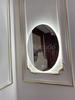 Gương led Elip phòng ngủ