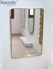 Gương hình Inox vàng