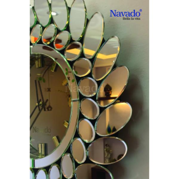 Gương Đồng hồ nghệ thuật